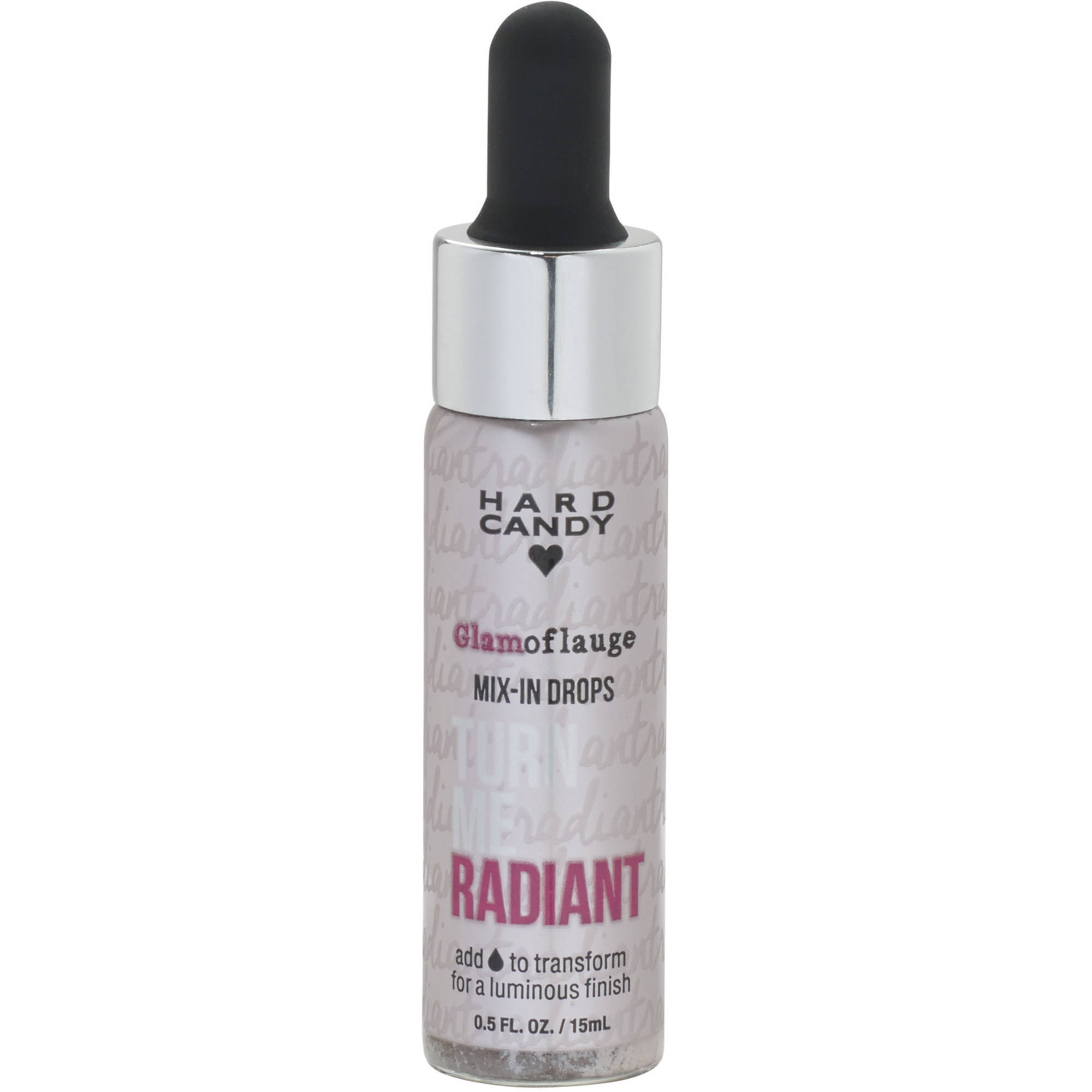 Hard Candy Glamoflauge Mix-In Drops, 1238 Turn Me Radiant, 0.5 fl oz
