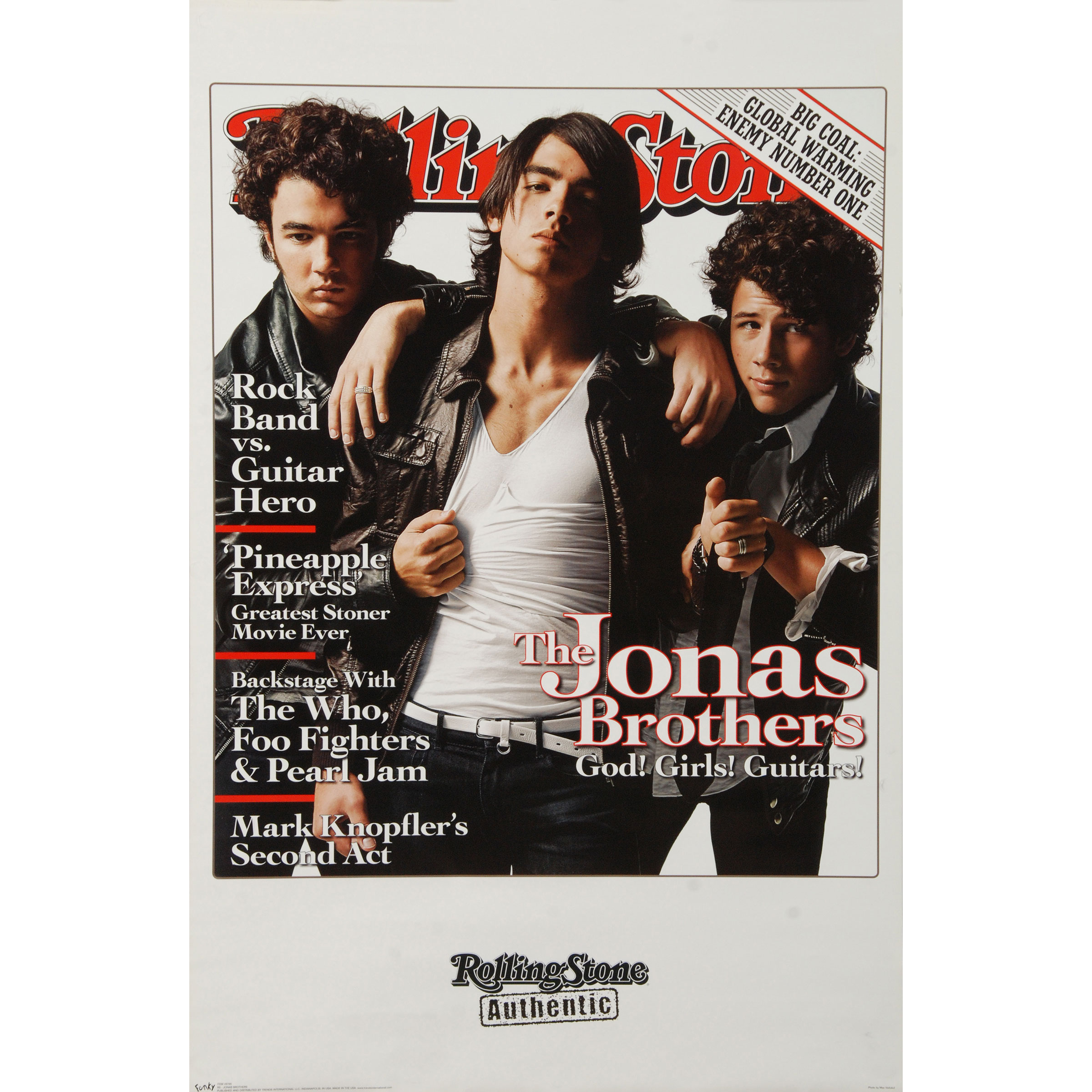 Jonas Brothers - Domestic Poster