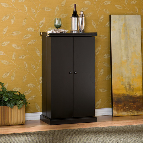 Wildon Home  Boswell Bar Cabinet with Wine Storage