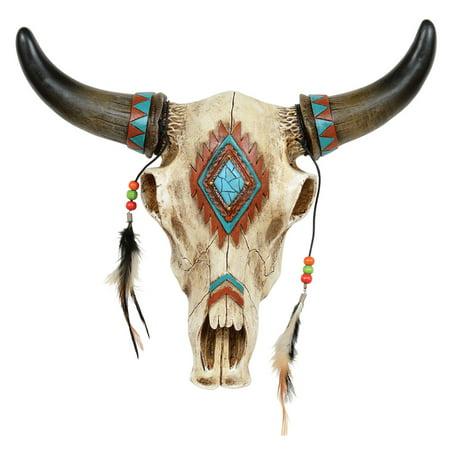 Southwestern Skull Wall Hanging](Southwestern Decor)