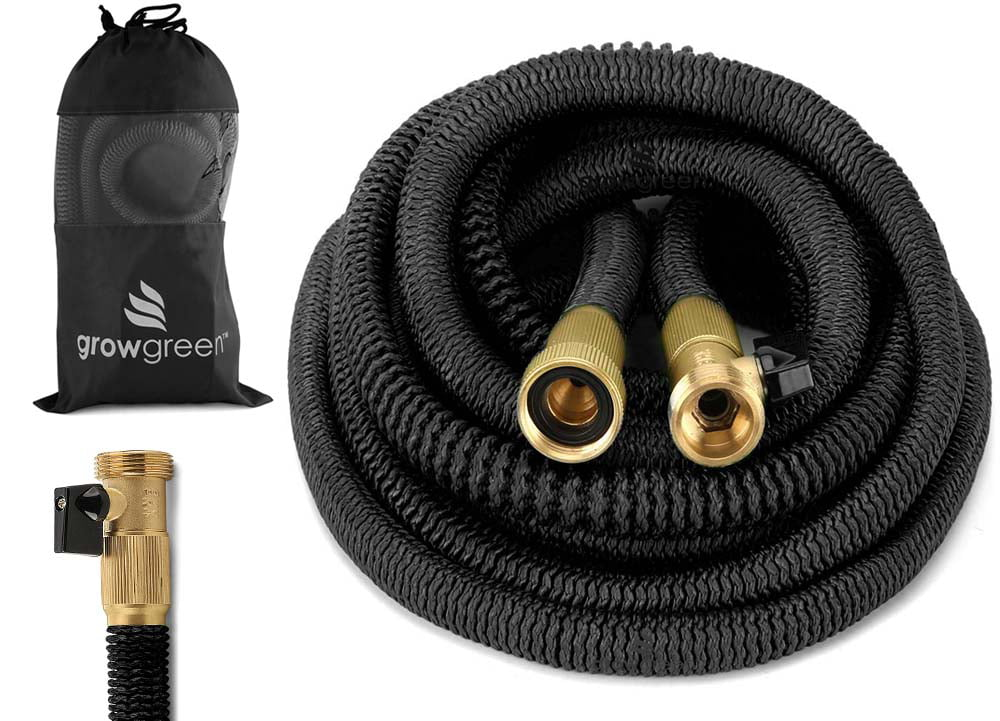 Garden Hose Heavy Duty Expandable hose Set 100 Feet by