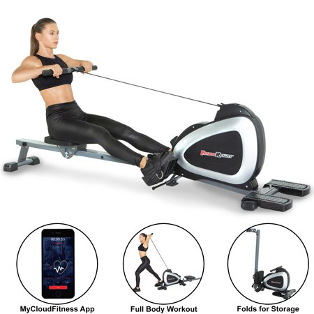 FITNESS REALITY 1000 PLUS Bluetooth Magnetic Rowing Machine Rower with Extended Optional Full Body Exercises and Free (Best Rowing Machine Under 300)