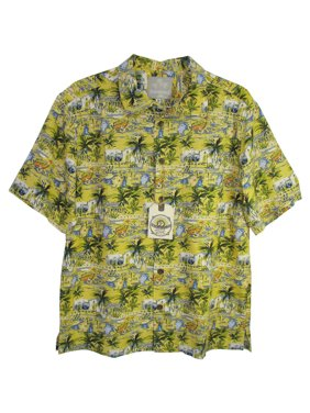 3a4dcd68aef7a9 Product Image Mens  Silk BBQ - Venice  Button-Down Shirt. Margaritaville