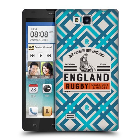 OFFICIAL ENGLAND RUGBY UNION 2017/18 HERITAGE HARD BACK CASE FOR HUAWEI PHONES 2