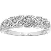 Eternal 1/10 Carat T.W. Certified Diamond 10kt White Gold Band