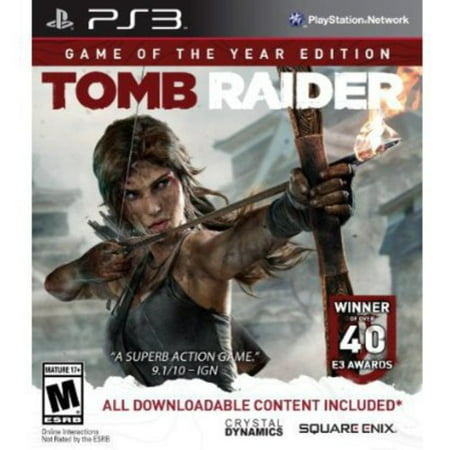 Tomb Raider - Game Of The Year - PlayStation 3