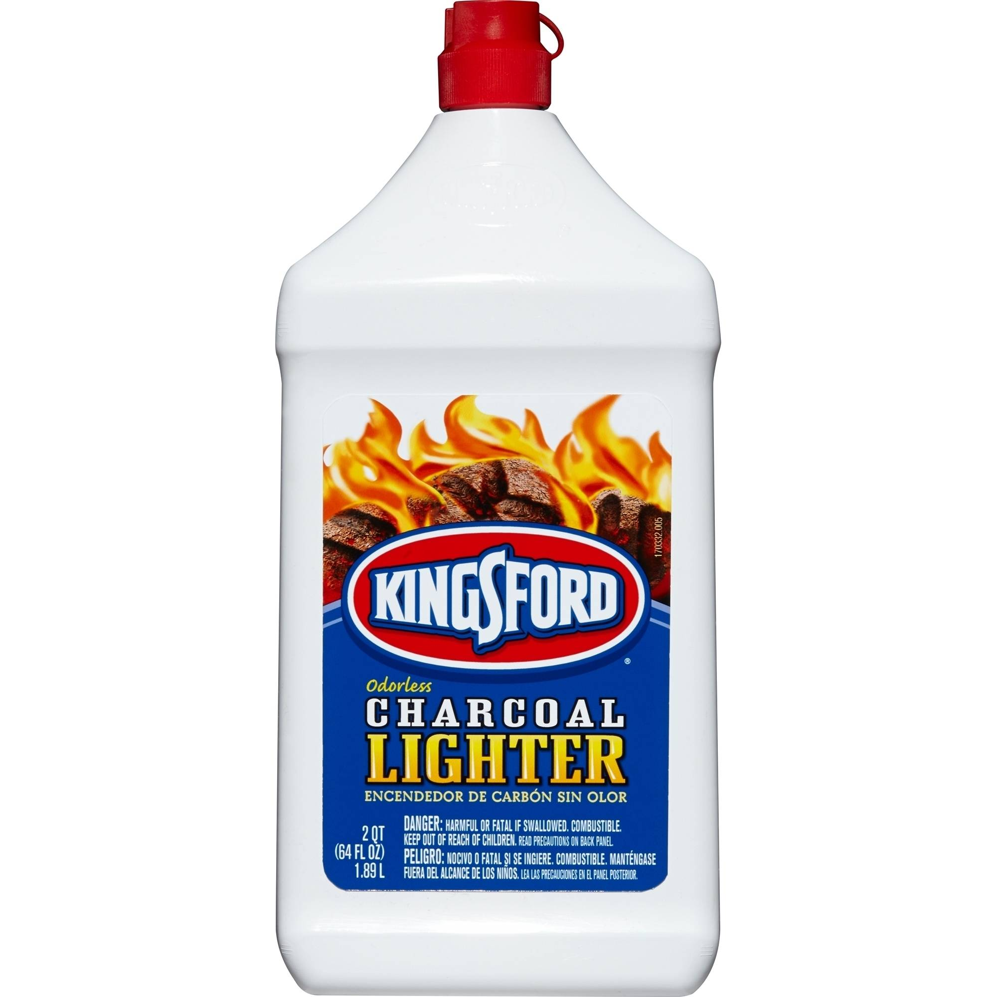 Kingsford Charcoal Lighter Fluid, 64 fl oz Bottle