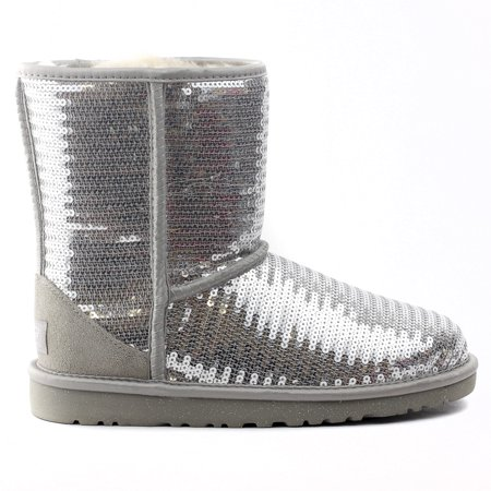 black and silver sparkle uggs