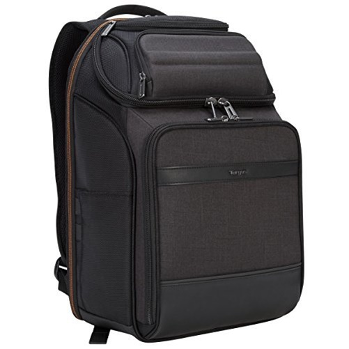 "Targus Citysmart Eva Pro Checkpoint-Friendly Backpack for 15.6"" Laptop, black (TSB895)"