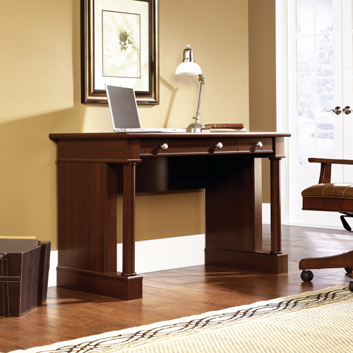 Sauder Palladia Writing Desk, Cherry