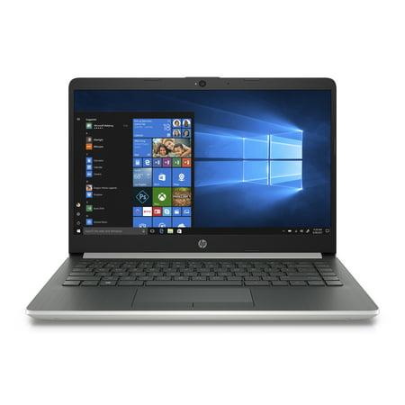 "HP (14-DF0010NR) 14-DF0010NR 14"" FHD IPS Natural Silver Laptop , Pentium N5000, 4GB Memory, 128GB SSD, , Intel UHD Graphics 605, Windows 10 Home in S mode"