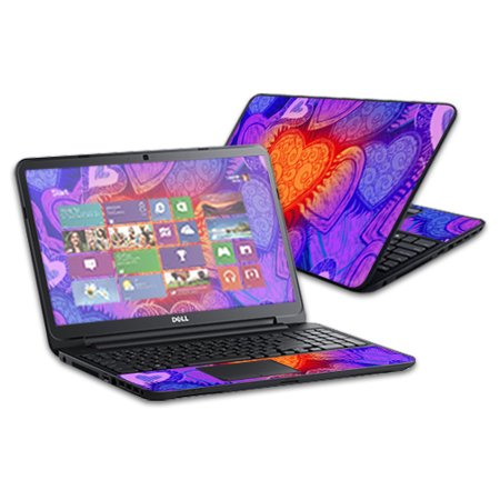 Skin Decal Wrap For Dell Inspiron 17 3721 Laptop 17  Sticker My Love