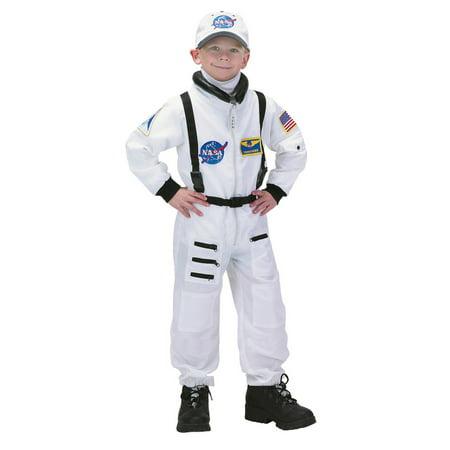 Nasa Junior Boys Deluxe White - Nasa Astronaut Flight Suit