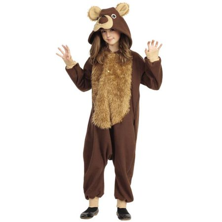 Large Bailey The Bear Child - Bear Costume For Kids
