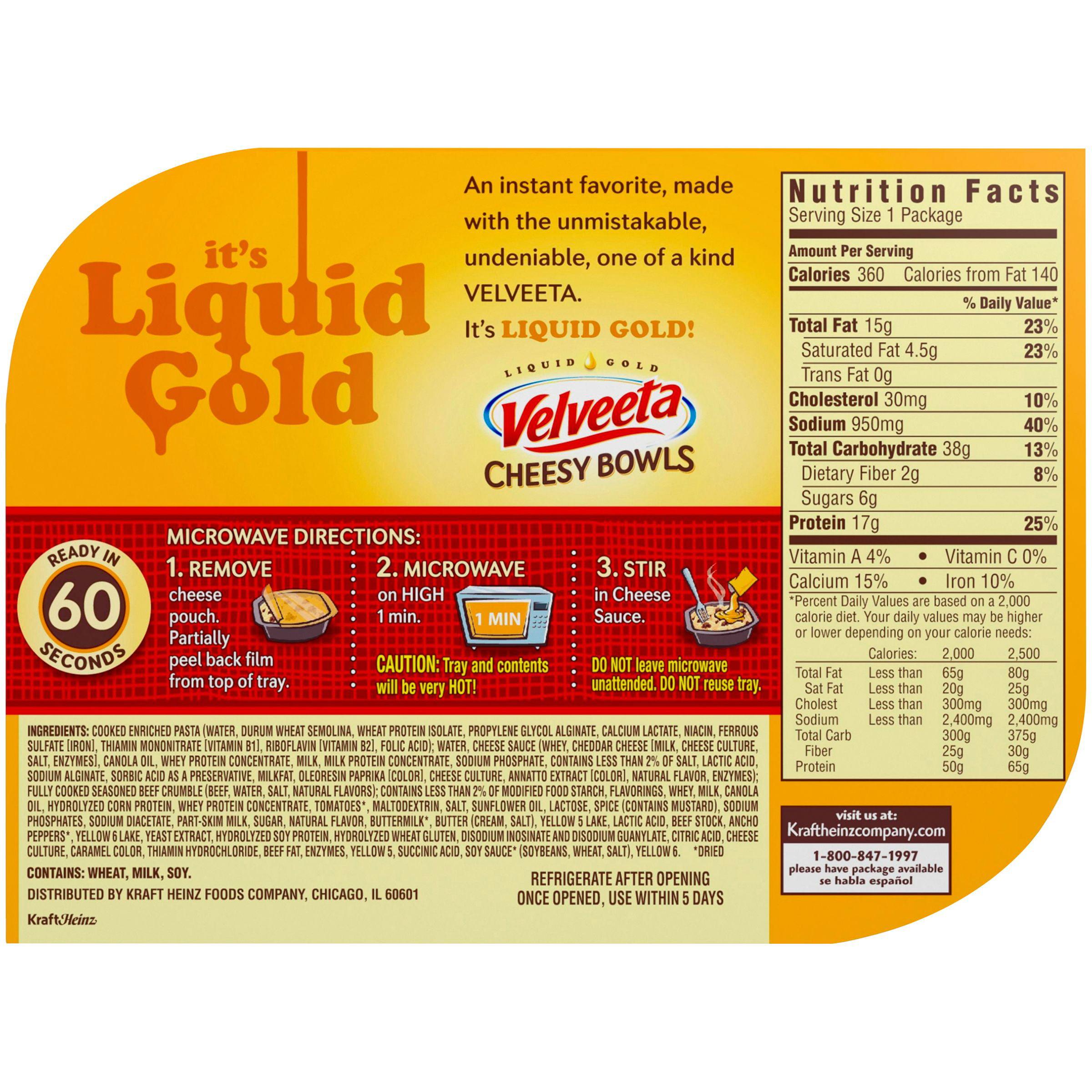 Velveeta Cheese Ingredients Label - Ythoreccio