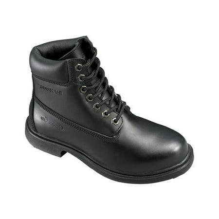 Men's Genuine Grip Footwear Slip-Resistant Waterproof Boot Blk Mens Footwear