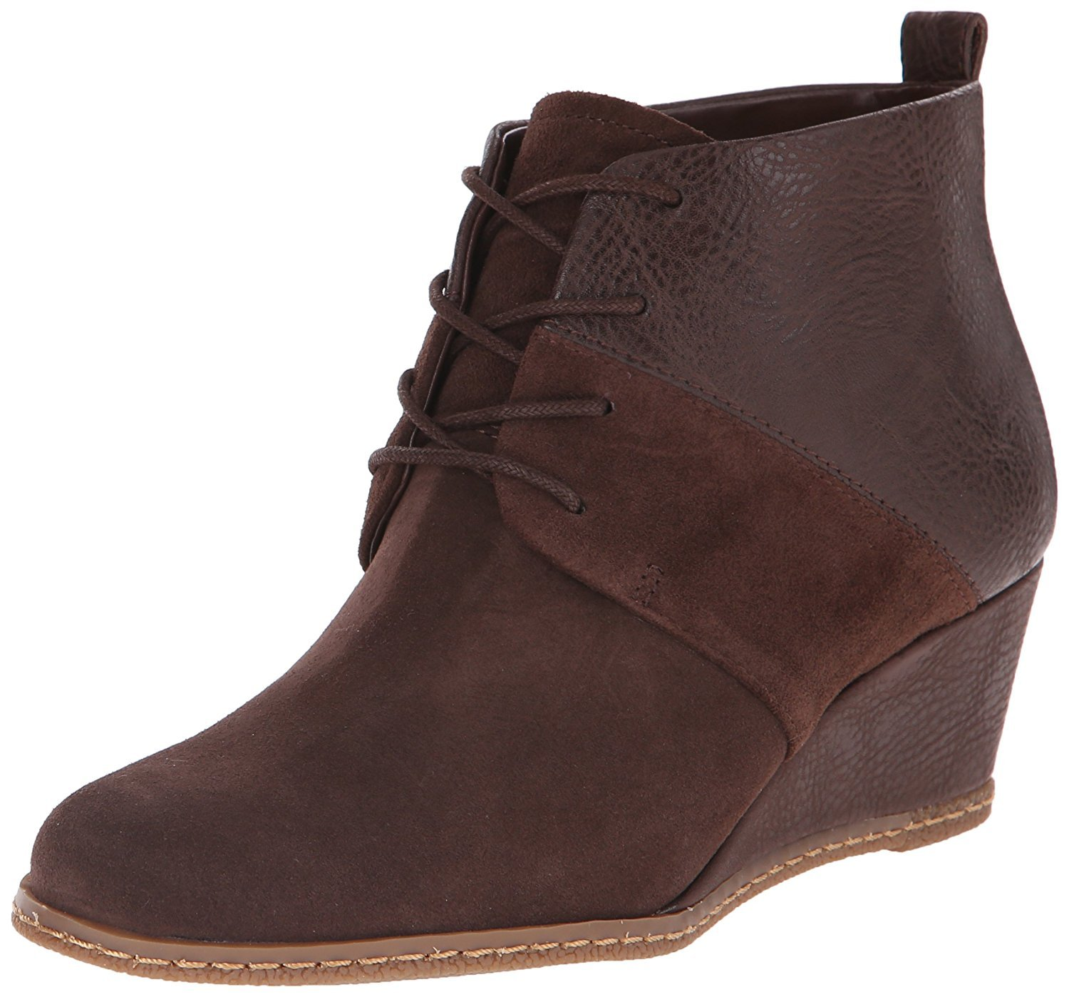 Franco Sarto Women's Albi Boot (5.5 B(M) US, Chocolate) by Caleres Inc