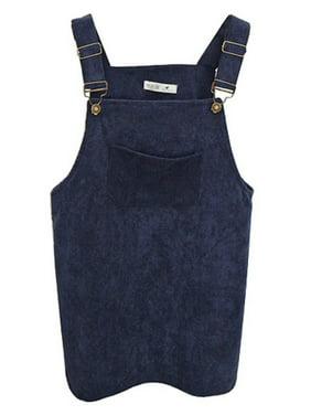 Women's Petie Corduroy Suspender Jumpsuit Vest Dress