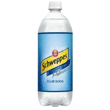 Schweppes Club Soda, 1 L