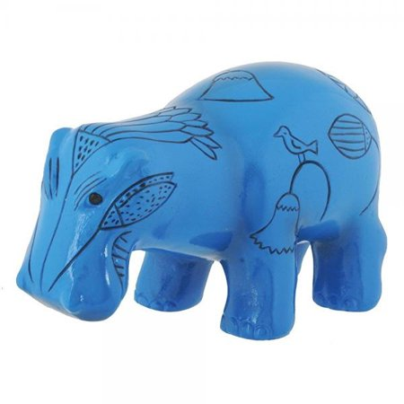 SUMMIT BY WHITE MOUNTAIN Hippopotamus Hippo Collectible -