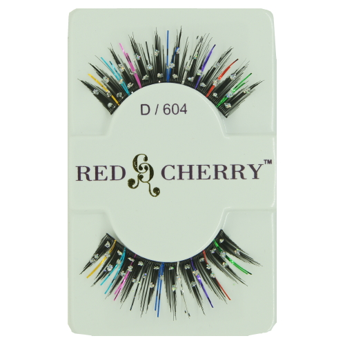 (3 Pack) RED CHERRY Stone / Color False Eyelashes - RCPXOS/CP