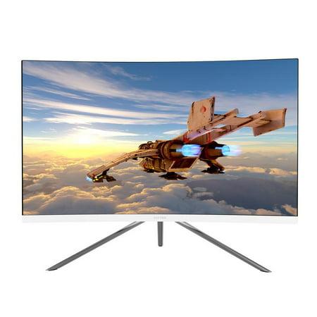 VIOTEK GN27DW 27-Inch Curved Gaming Monitor, 1440p 144Hz Samsung VA Panel, FreeSync GamePlus FPS/RTS – VESA