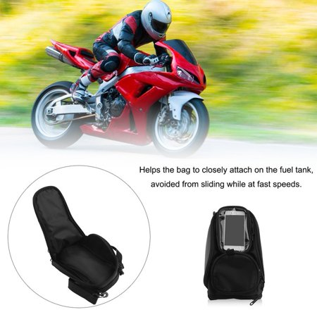 Waterproof Motorcycle Fuel Tank Bag Motorbike Riding Sling Shoulder Bag Convenient For Holding Phone Navigator