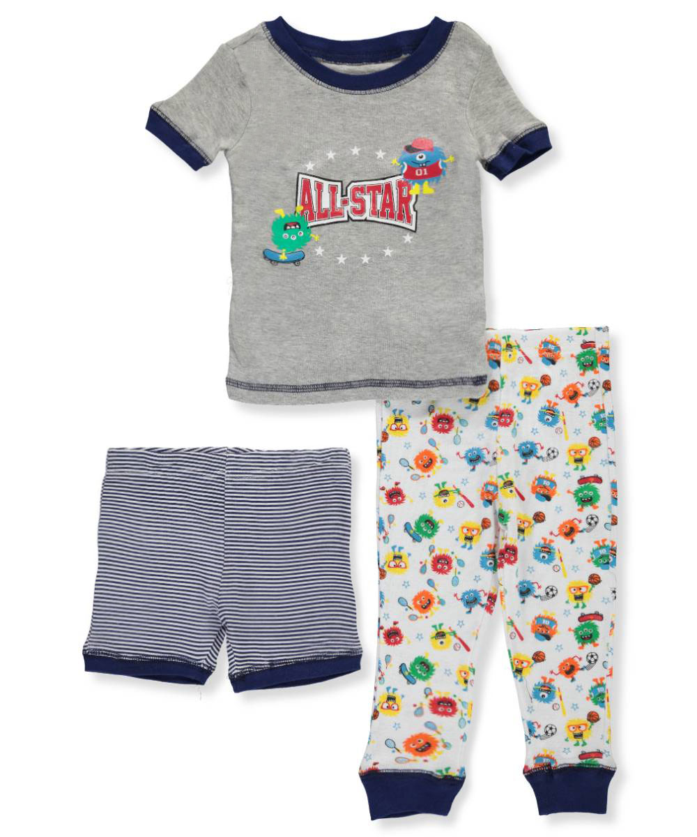 Boys' 3-Piece Pajama Set