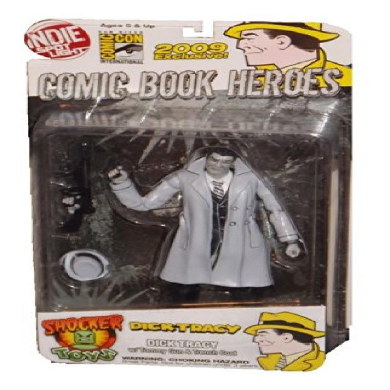 Indie Spotlight Comic Book Heroes Dick Tracy Trenchcoat S...