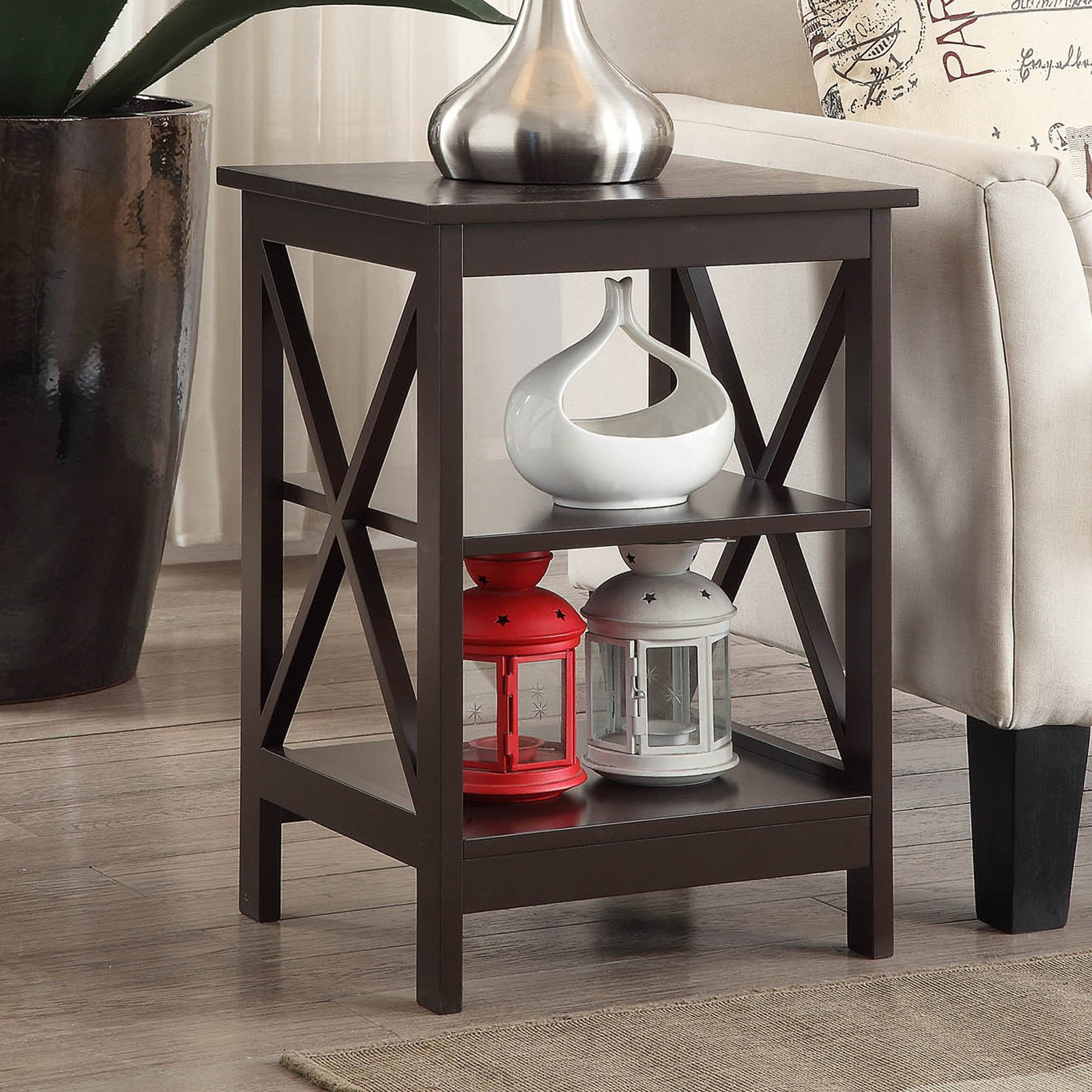 Convenience Concepts Oxford End Table, Multiple Colors by Convenience Concepts Inc