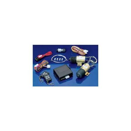 SPAL SHAVED-40 REMOTE SHAVED DOOR HANDLE KIT WITH TWO RELAYS   TWO 7-CH REMOTES - 40LB SOLENOID
