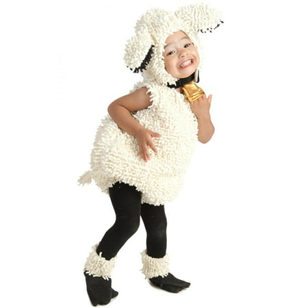 Baby Lovely Lamb Deluxe Costume - Costume Of A Baby
