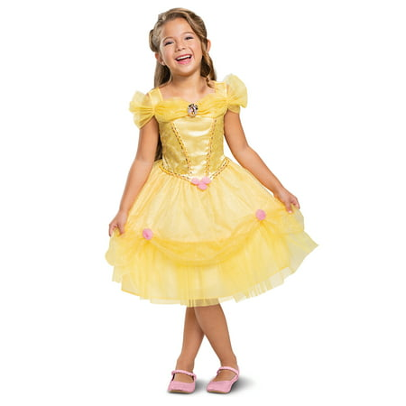 Chinese Take Out Girl Halloween Costume (Disguise Disney Princess Girls Classic Belle Halloween Costume)