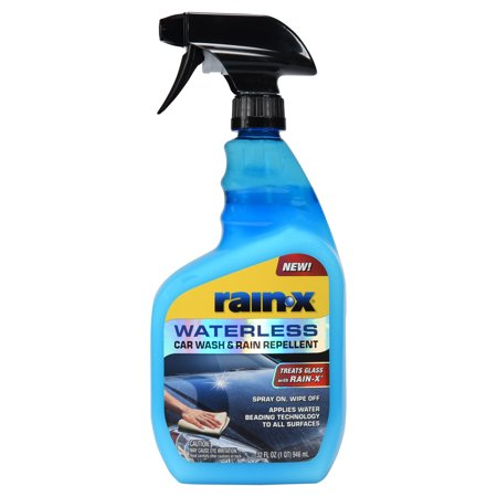 NEW! Rain-X Waterless Car Wash & Rain Repellent 32 FL OZ - 62100