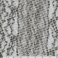 Taupe/Beige Polka Dot Stretch Mesh Knit, Fabric By the Yard