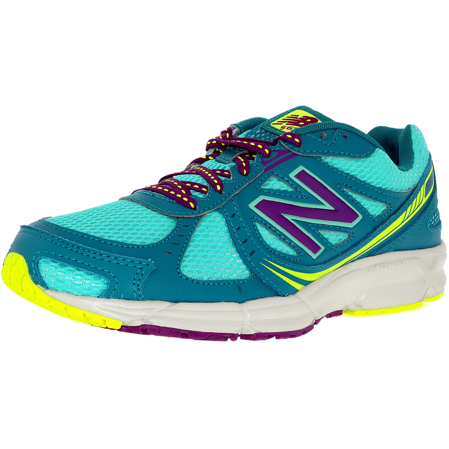 New Balance Women's Running Course Black Purple White Red Ankle-High Shoe 9.5W by New Balance