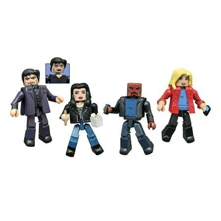 Toys Marvel Minimates  Jessica Jones Series 1 Action Figure Box Set  Based On The Smash Netflix Series By Diamond Select