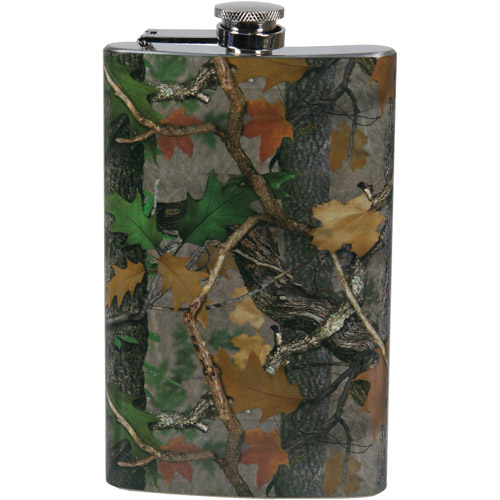 Rivers Edge Products 9 oz Flask, CB Transition Camo