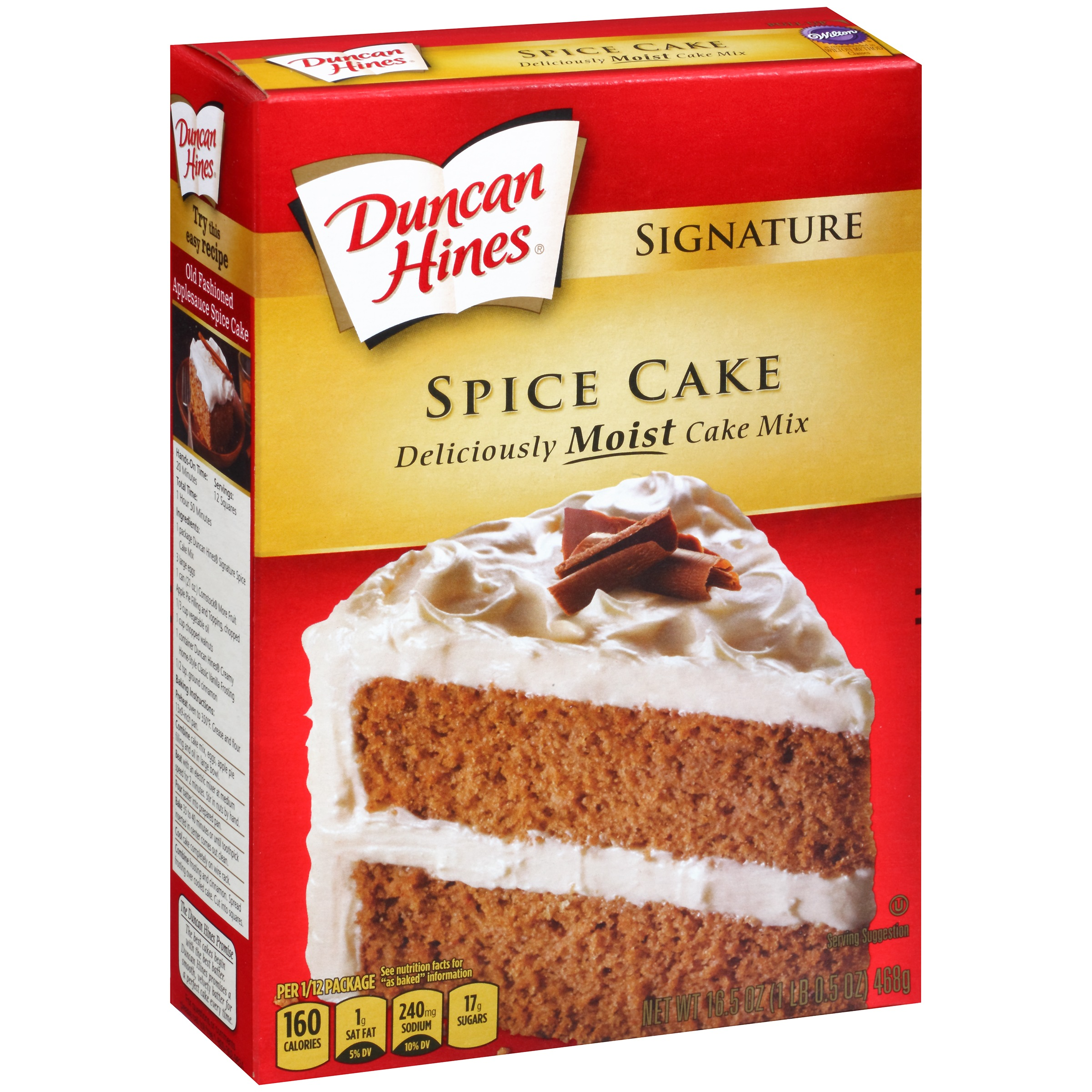 Duncan Hines Moist Deluxe Spice Cake Mix, 18.25 oz by Pinnacle Foods Group LLC