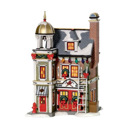 department 56 a christmas story 805666 the fire house lig - A Christmas Story Decorations