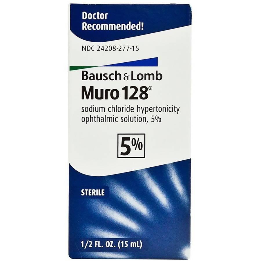 Bausch & Lomb Bausch & Lomb Muro 128 Ophthalmic Solution, 0.5 oz