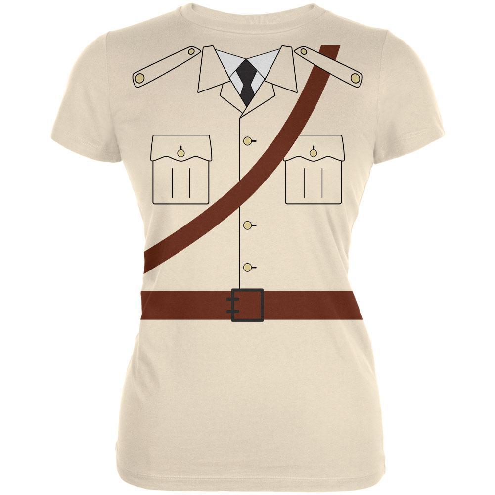 Halloween Safari Explorer Dr. Livingstone Costume Juniors Soft T Shirt
