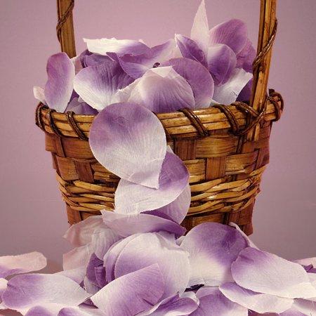 Lavender Light Purple 144pcs Fabric Flower Rose Petals - Lavender Petals