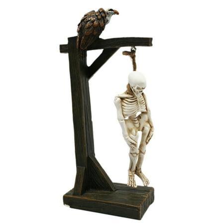 Halloween Collection Hanging Skeleton Creepy Figure - By Ganz - Creepy Halloween 1900