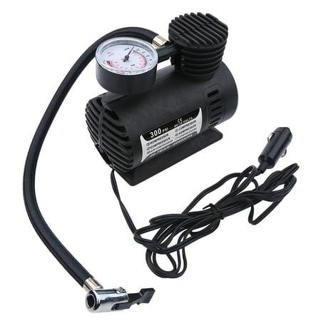 Yosoo  Portable Mini Air Compressor Electric Tire Infaltor Pump 12 Volt Car 300 PSI, Air Compressor