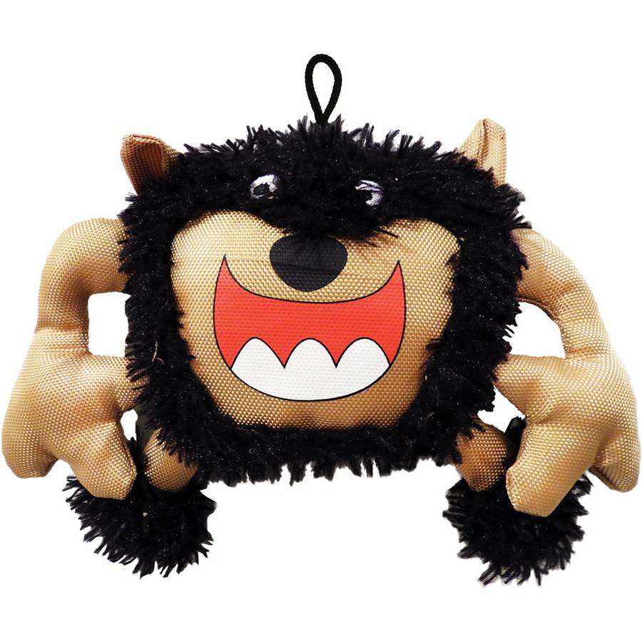 Plush Scary Big Mouth Monster Dog Toy, 9""