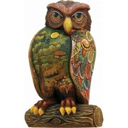 G.Debrekht 58912 General Holiday Wise Messenger Owl 5 in.