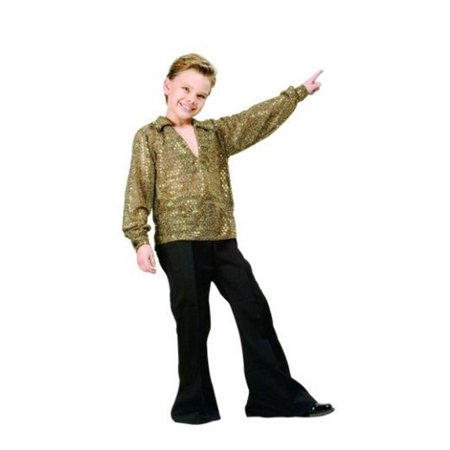 Disco Boy Costume - Gold - Size Child Small 4-6 - image 1 of 1