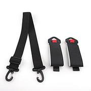 Adjustable Ski and Pole Carrier Strap Shoulder Carrier Snowboard Strap for Outdoor Sports Skiing