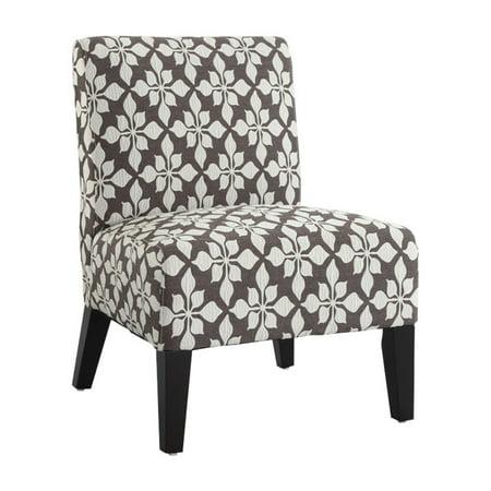 Monaco Accent Chair Spades Mocha Walmart Com